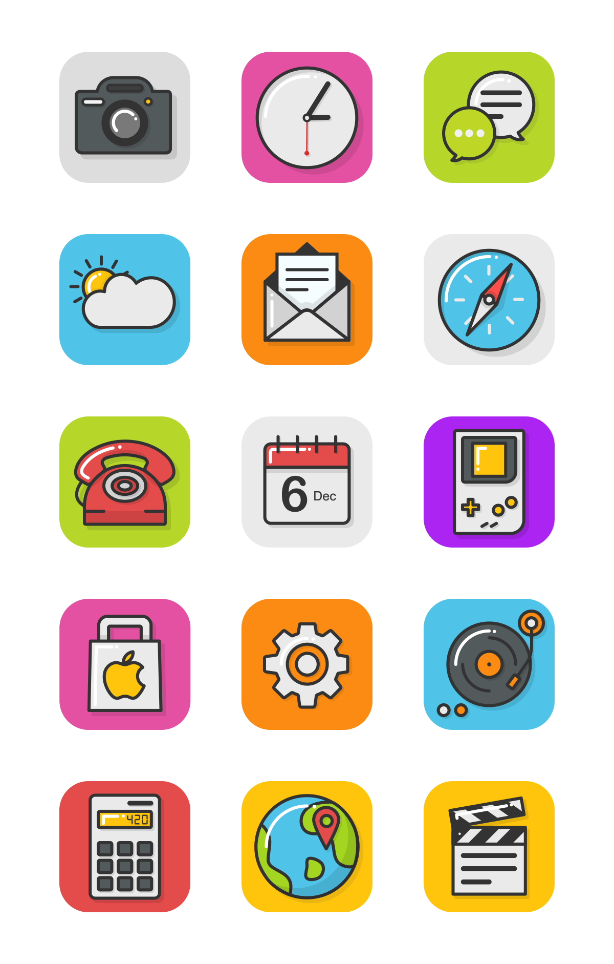 Animated Icons