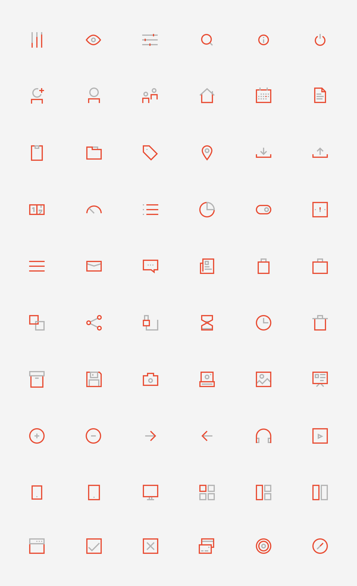 60 BiColored Icons Collection
