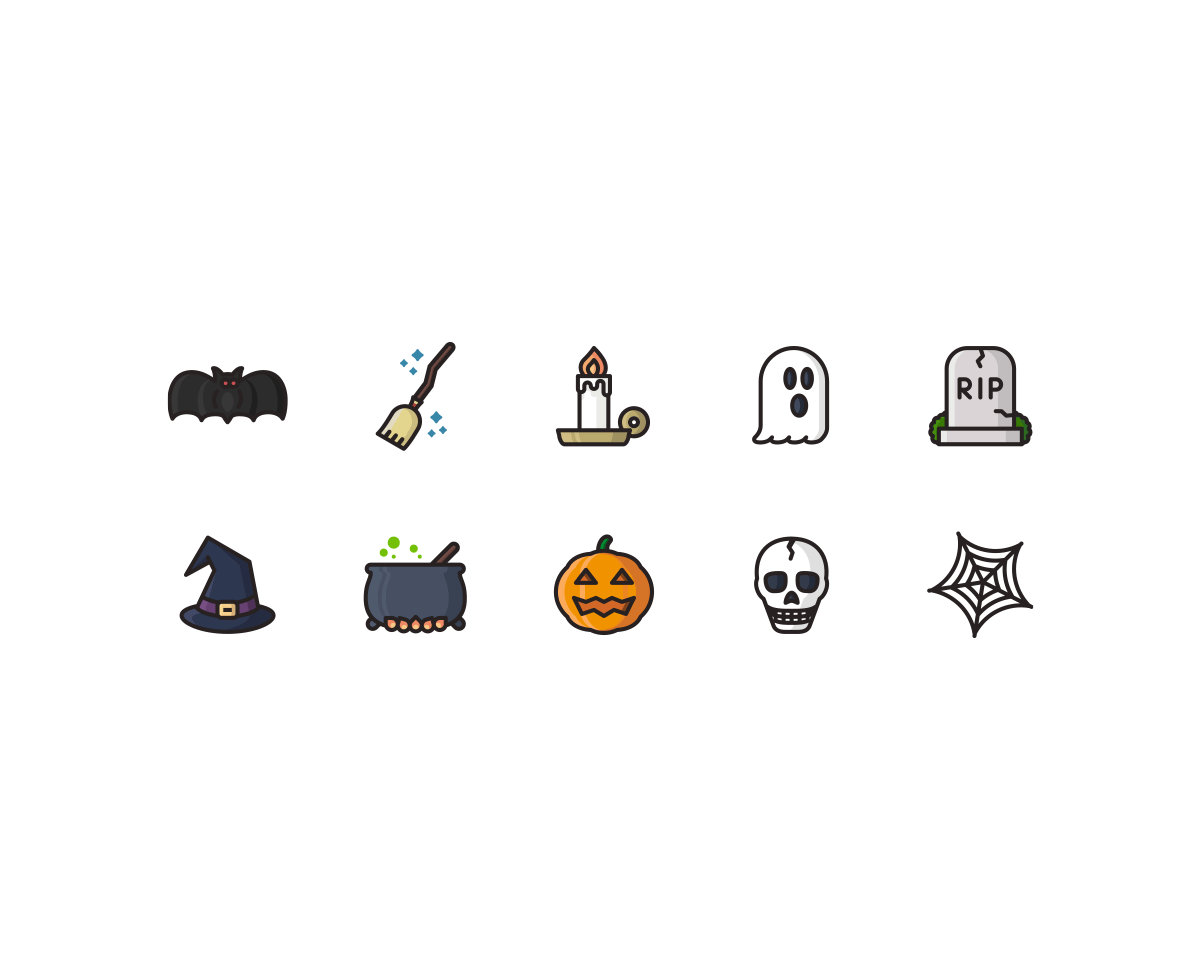Halloween Illustrations