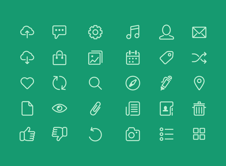Vector Icons from Chapps