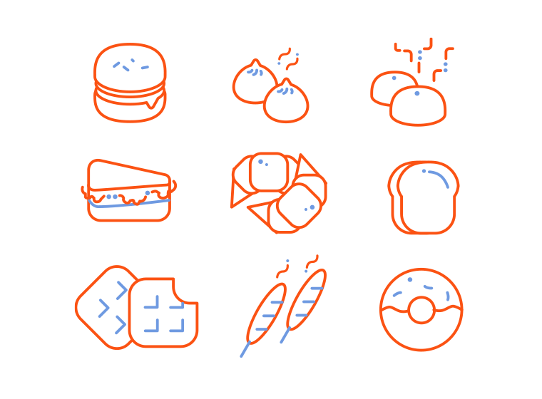 [Freebies] Food Icons