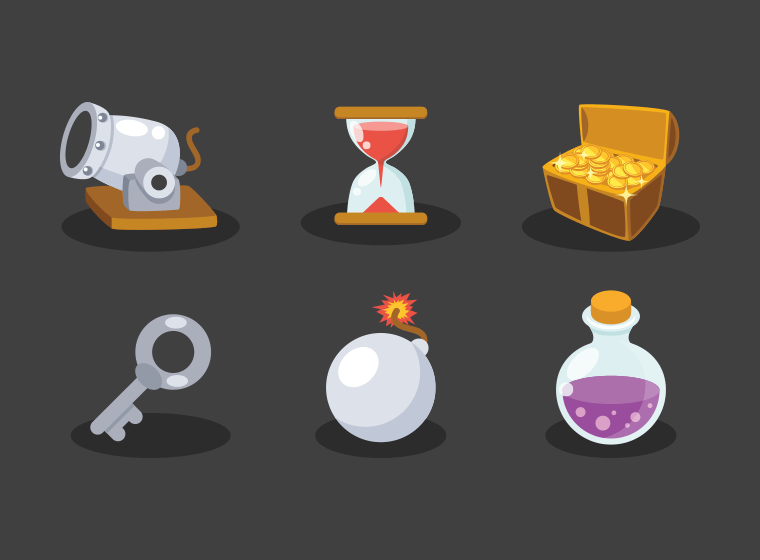 Game Elements Icons