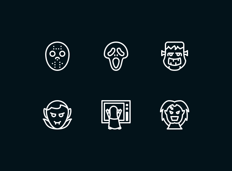Horror Movie Icon Pack