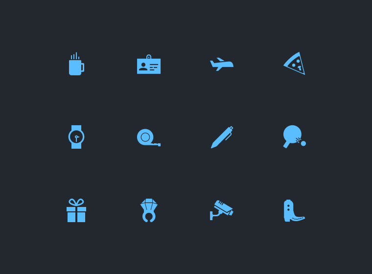 Mini Material Free iconset Vol1