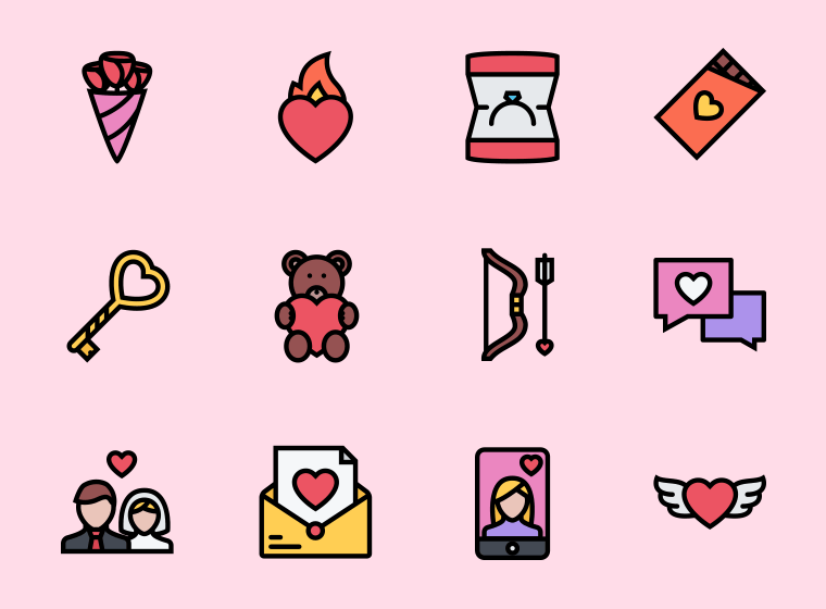 The Love Icons