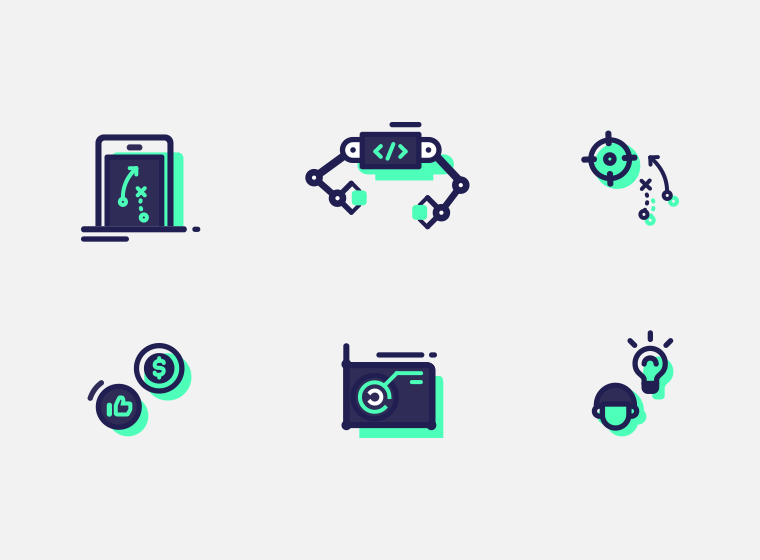 Mobile App Mini Icons