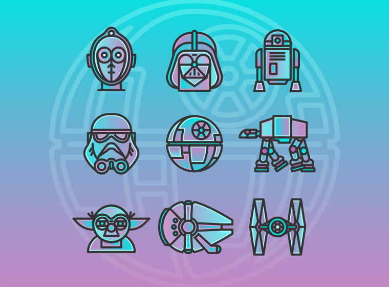 10 Star Wars Icons